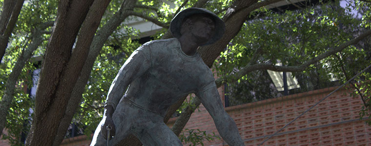 Downtown Lakeland sculpture